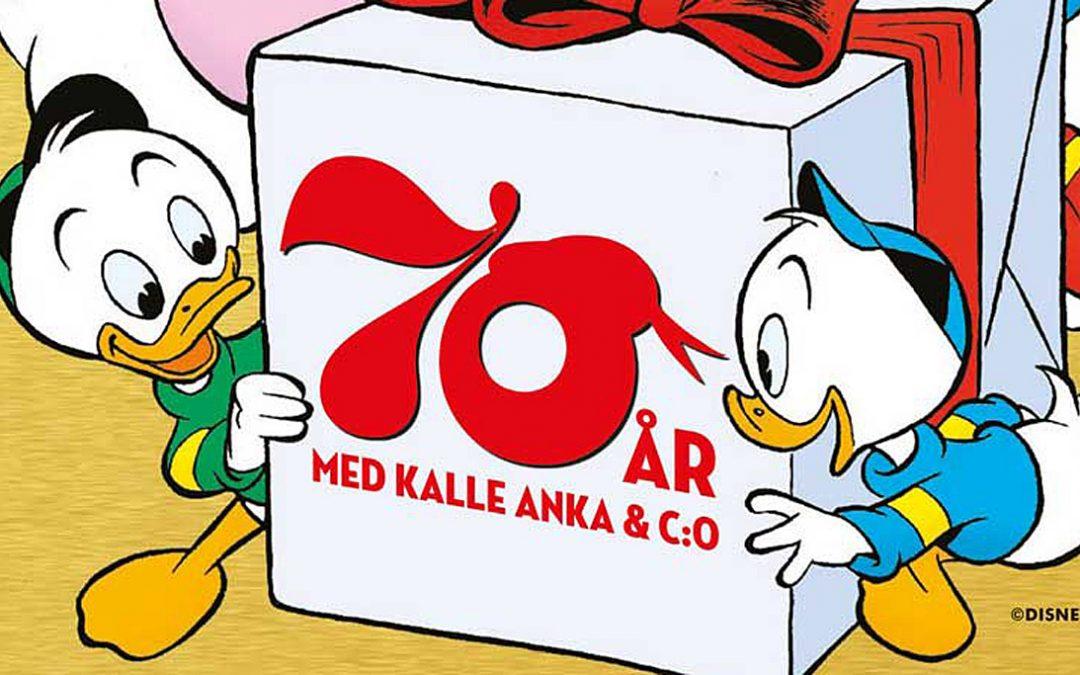 Missa inte Kalle Ankas jubileumsalbum!