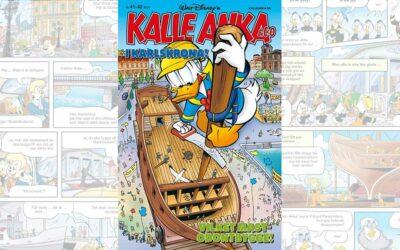 Spektakulärt båtbygge i centrum när Kalle Anka intar Karlskrona