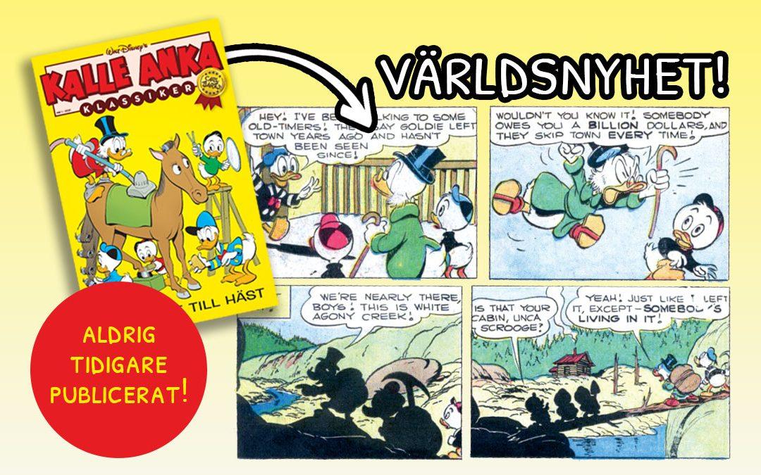 70 år gammal Carl Barks-ruta upptäckt!