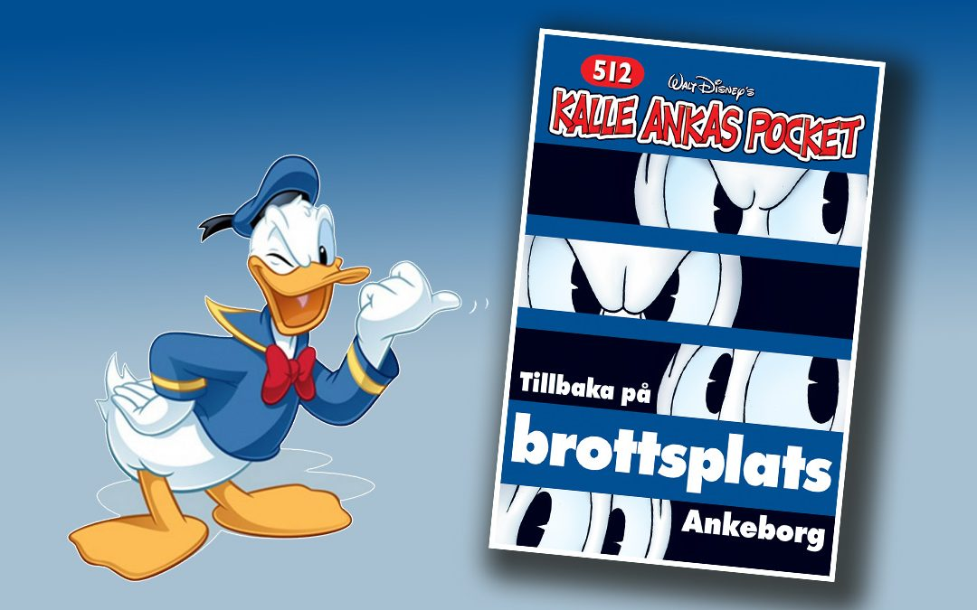 Ute nu: dubbelnummer av Kalle Ankas pocket!