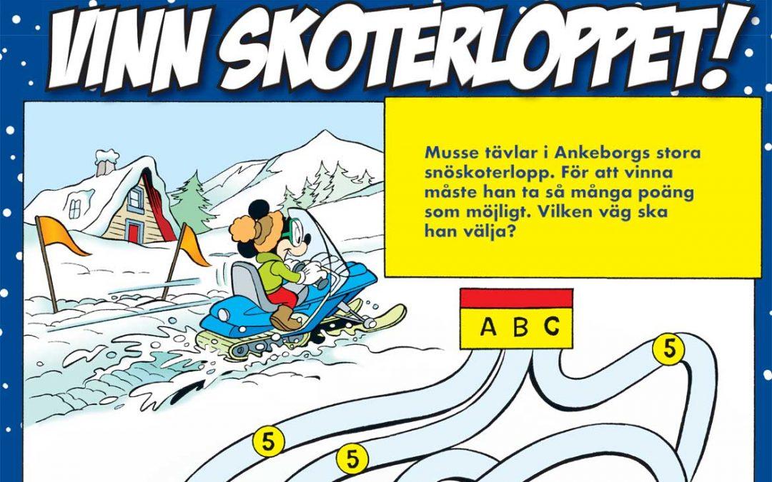 Ladda ner pyssel från Kalle Anka special Vinterkul!