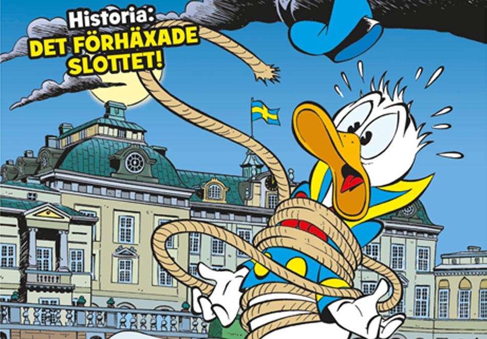 Kalle är på Drottningholms slott!
