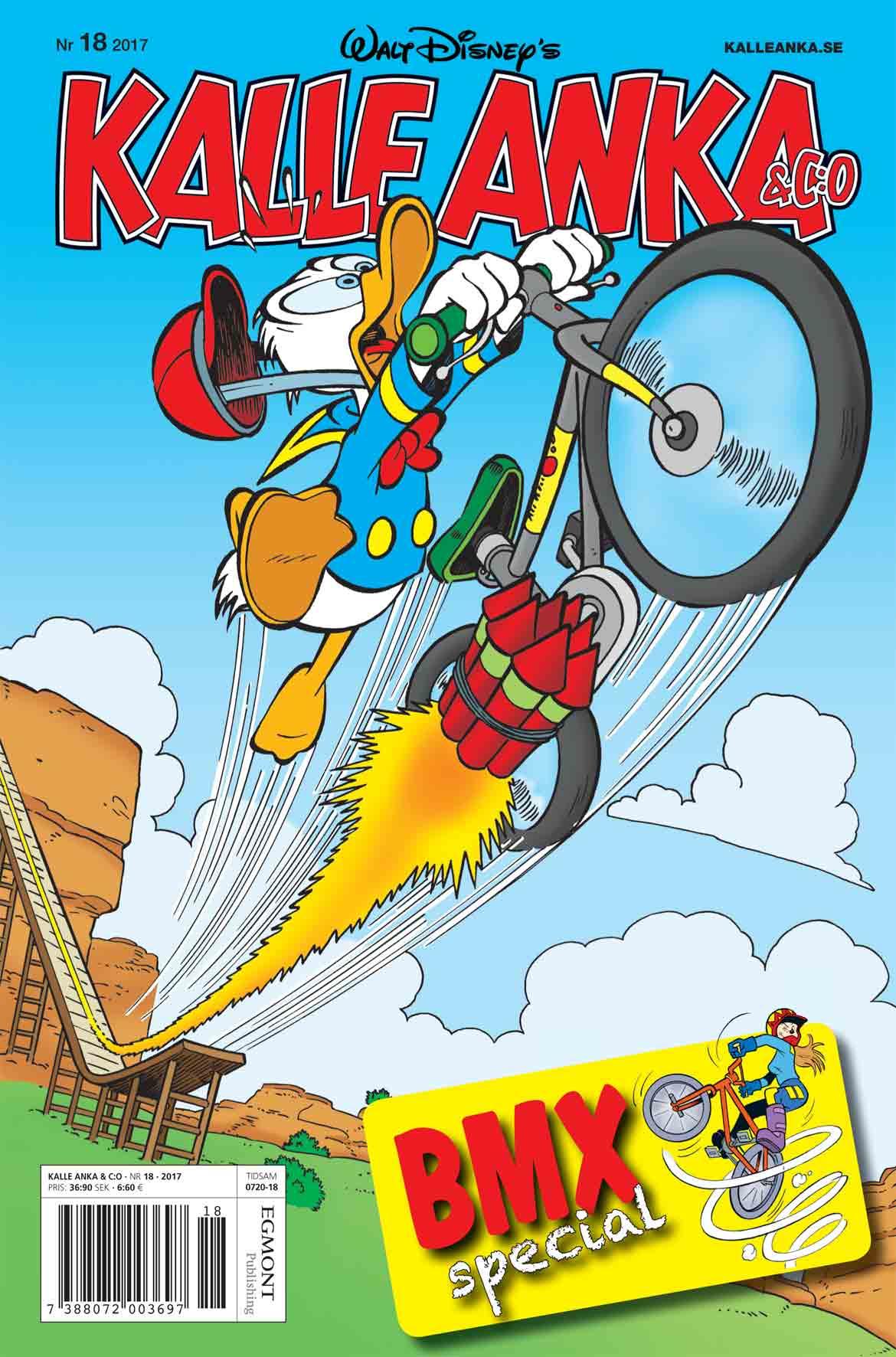Kalle Anka testar BMX!