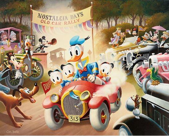 Carl Barks oljemålningar