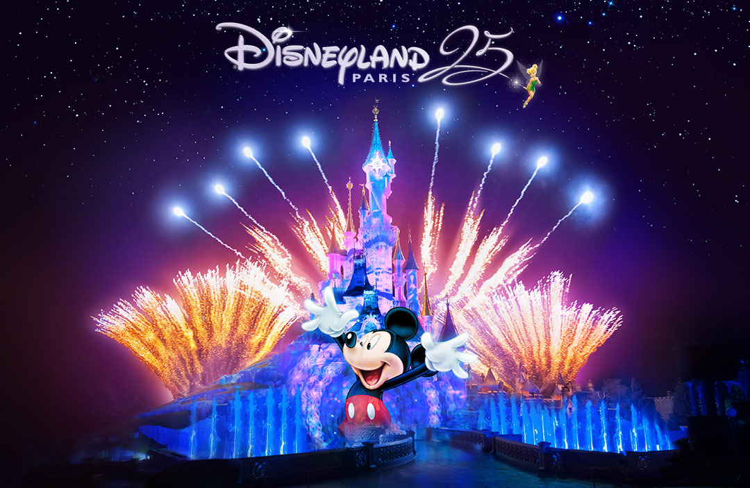 Vinn resa till 25-årsjubileet på Disneyland® Paris!