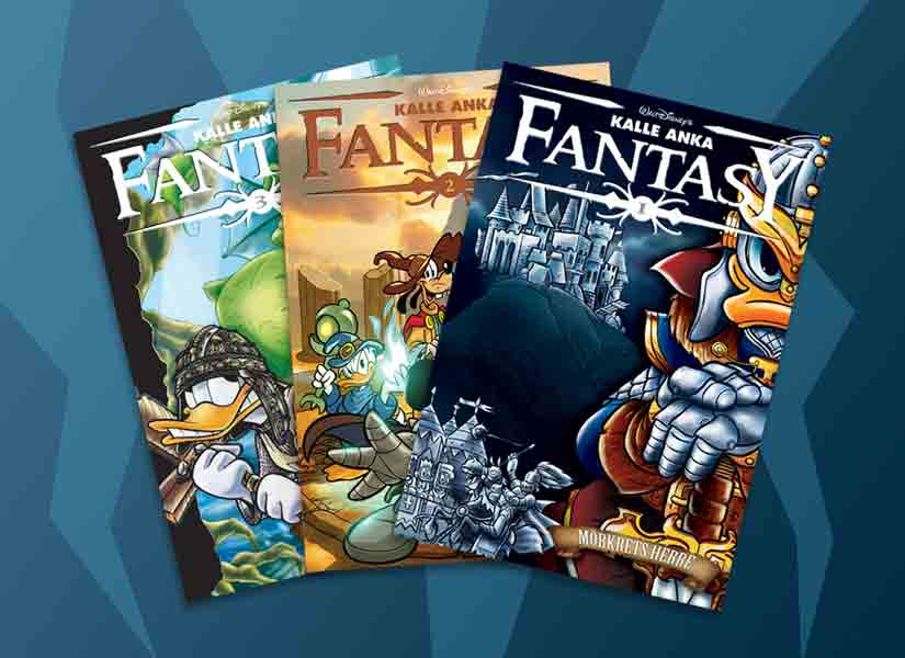 Ny Kalle Anka Pocket för alla som gillar fantasy