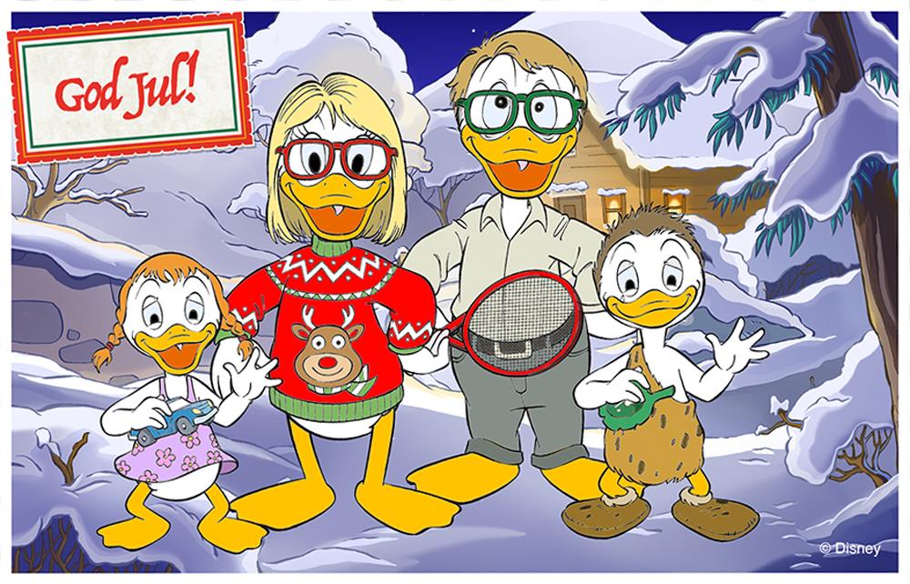 Vinnarna i Julkortstävlingen