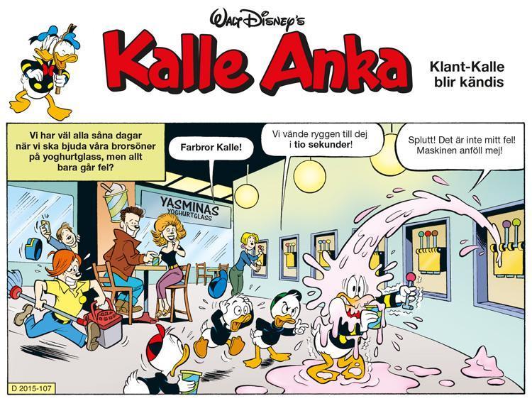 Klant-Kalle blir kändis