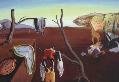 Ankifierad Salvador Dali.