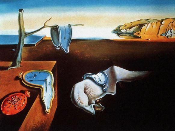 Originalet: Salvador Dali - The Persistence of Memory (Minnets envishet).