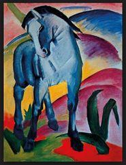"""""""Der blaue Reiter"""" av Franz Marc."""