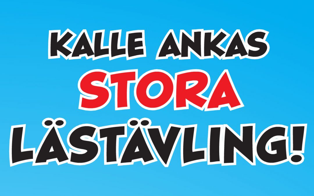 Kalle Ankas stora lästävling