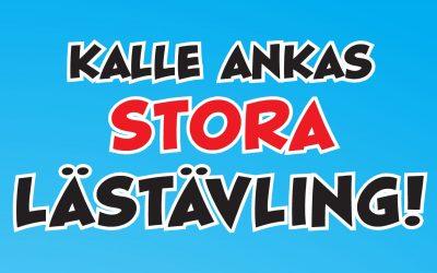 Vinnarna i Kalle Ankas stora lästävling