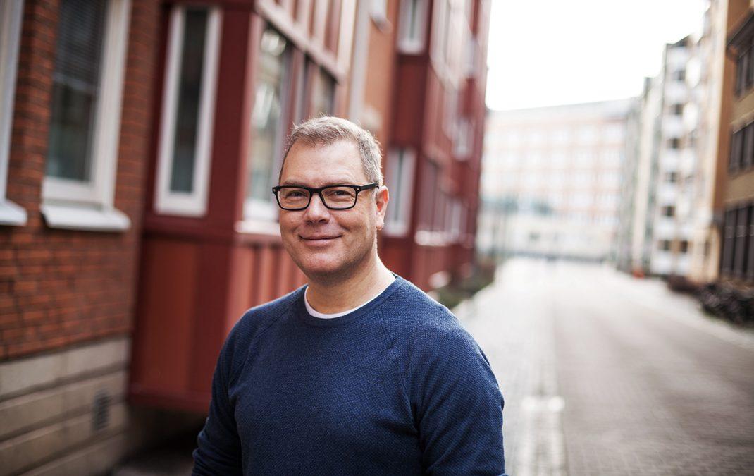 Hej Tony Cronstam, vår nya Kalle-tecknare!