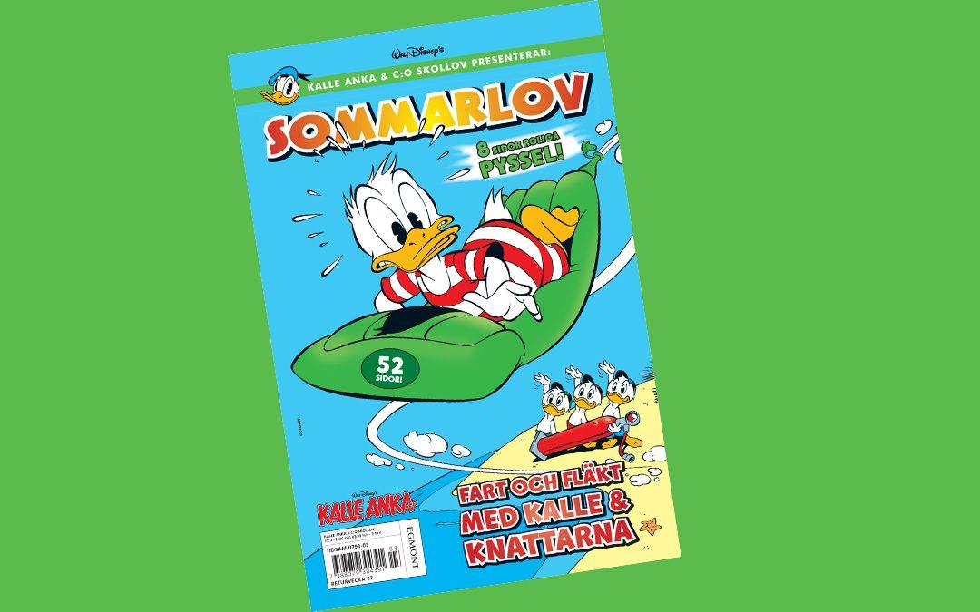 Sommarlov och extra läsning med Kalle Anka